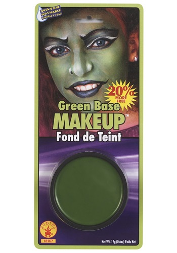Green Face Makeup (Green Face Makeup)