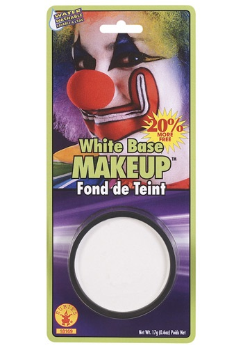 Click Here to buy White Base Makeup from HalloweenCostumes, USA Funds & Shipping