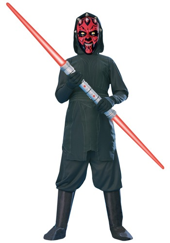 Click Here to buy Kids Darth Maul Costume from HalloweenCostumes, CDN Funds