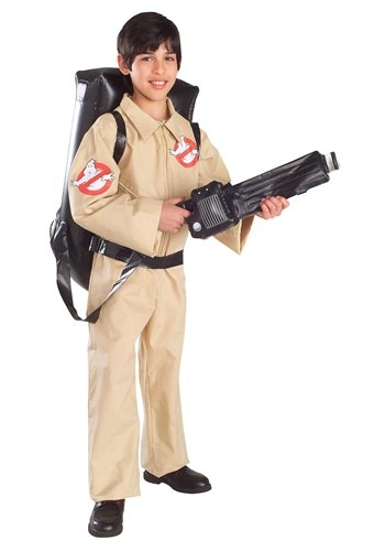 Click Here to buy Kids Classic Ghostbusters Costume from HalloweenCostumes, USA Funds & Shipping