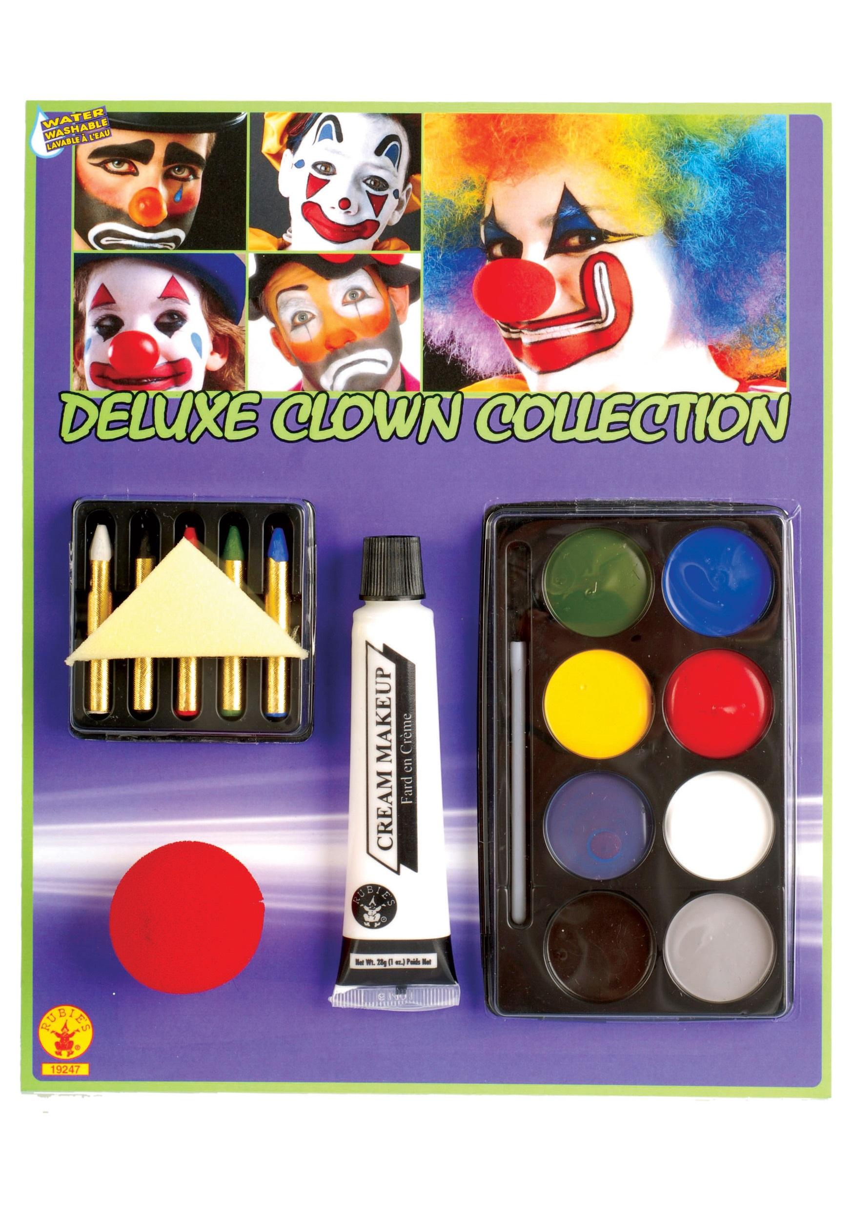 Clown Makeup Set - Makeup Set Halloween