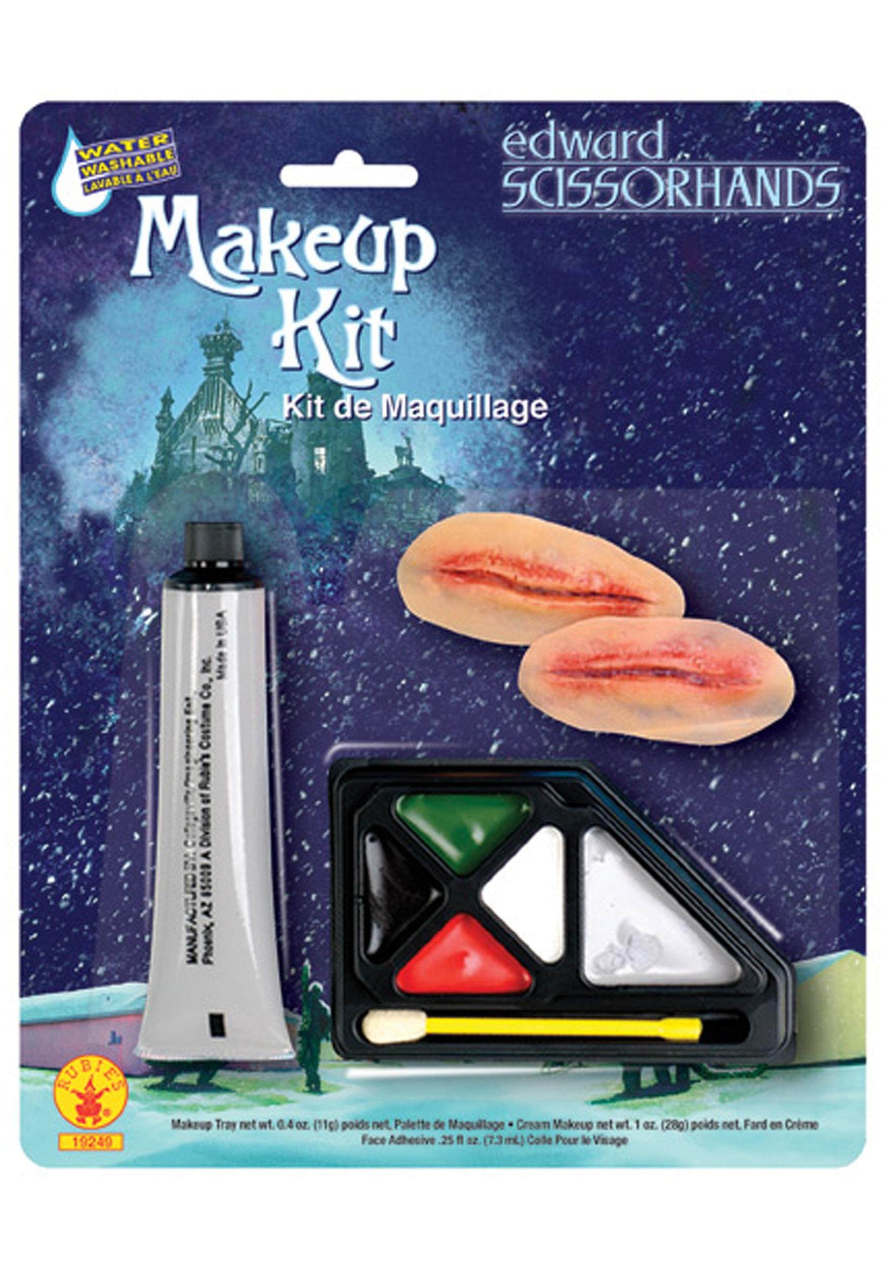 Costumes For All Occasions Ru19249 Edward Scissorhands Makeup Kit RU19249