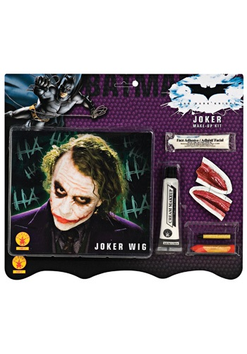 Deluxe Joker Wig & Makeup Kit ()