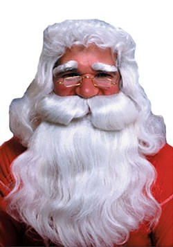 Straight Santa Wig and Beard Update