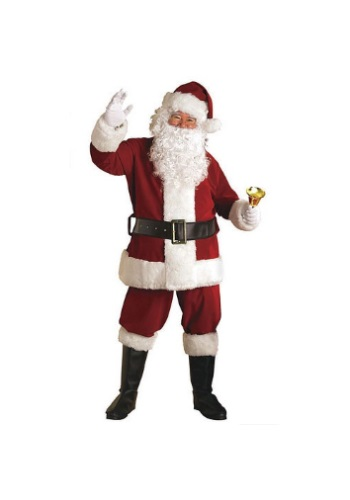 Click Here to buy Regal Santa Suit Costume from HalloweenCostumes, CDN Funds