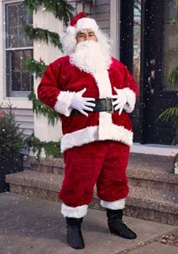 Plus Size Regal Santa Suit