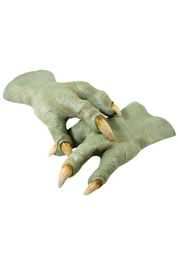 Star Wars Yoda Hands By: Rubies Costume Co. Inc for the 2015 Costume season.