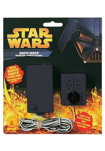 Click Here to buy Darth Vader Breathing Device from HalloweenCostumes, CDN Funds