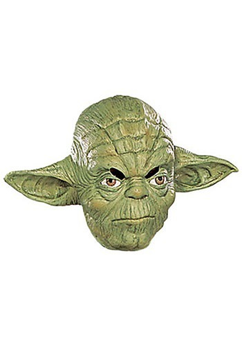 Yoda Vinyl Mask 3 and 4 By: Rubies Costume Co. Inc for the 2015 Costume season.