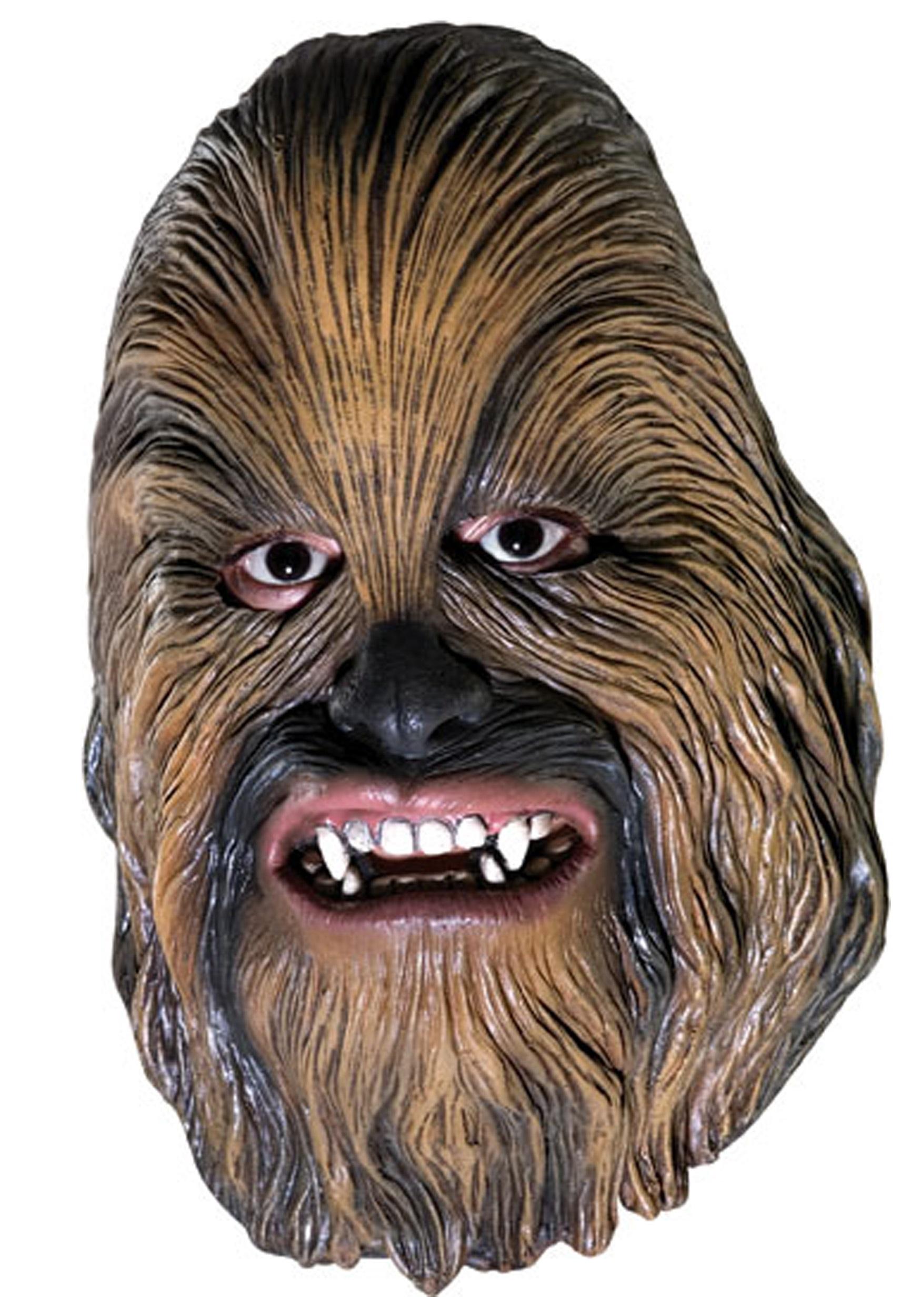 Vinyl 3 4 Chewbacca Mask