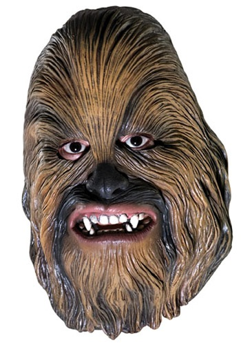 Vinyl 3 and 4 Chewbacca Mask By: Rubies Costume Co. Inc for the 2015 Costume season.