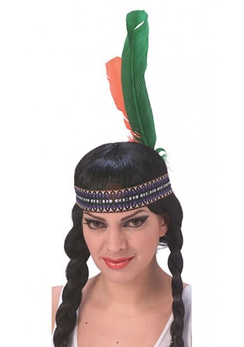Native American Headband with Feathers By: Rubies Costume Co. Inc for the 2015 Costume season.