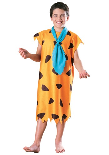 Click Here to buy Kids Fred Flintstone Costume from HalloweenCostumes, USA Funds & Shipping