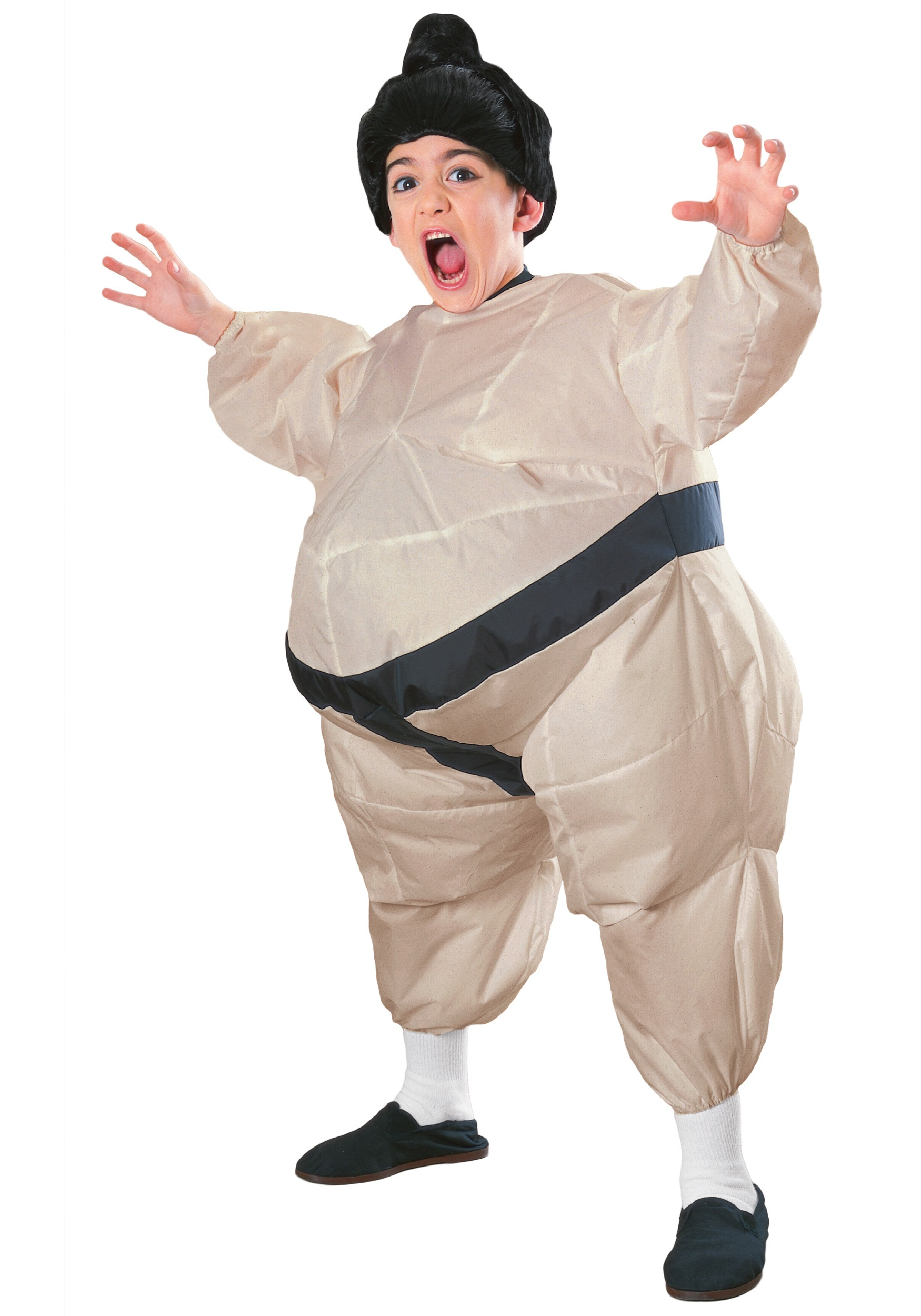 sc 1 st  Halloween Costumes & Child Inflatable Sumo Costume