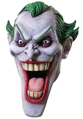Deluxe Joker Mask By: Rubies Costume Co. Inc for the 2015 Costume season.