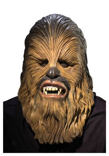 Deluxe Latex Chewbacca Mask By: Rubies Costume Co. Inc for the 2015 Costume season.