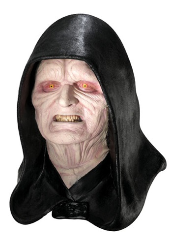 Deluxe Emperor Palpatine Mask By: Rubies Costume Co. Inc for the 2015 Costume season.