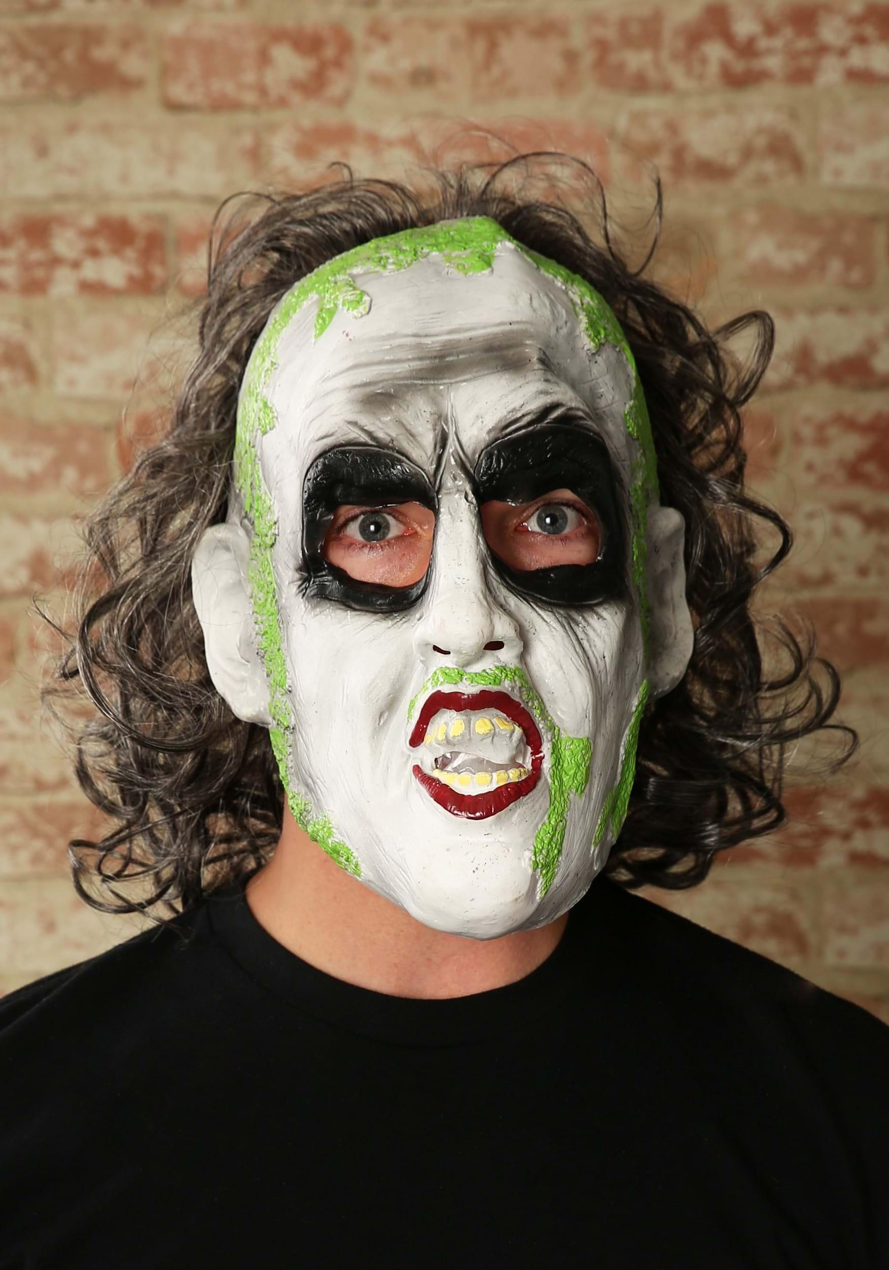Beetlejuice 3/4 Mask w/ Hair