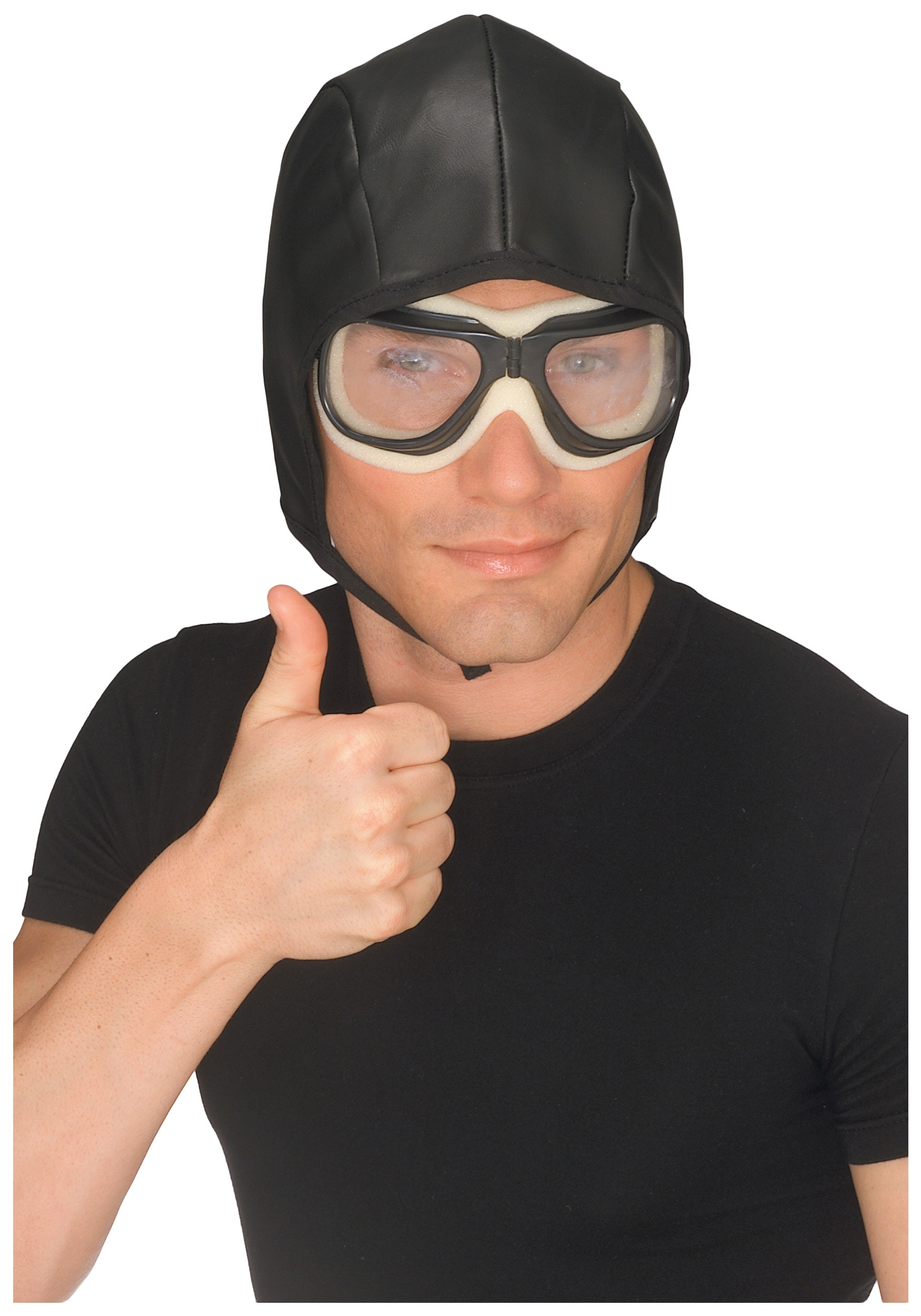 Aviator Helmet and Goggles Set RU49162