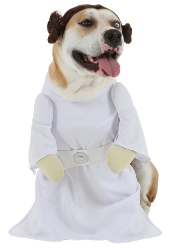 princess leia dog costume pet halloween costumes star wars