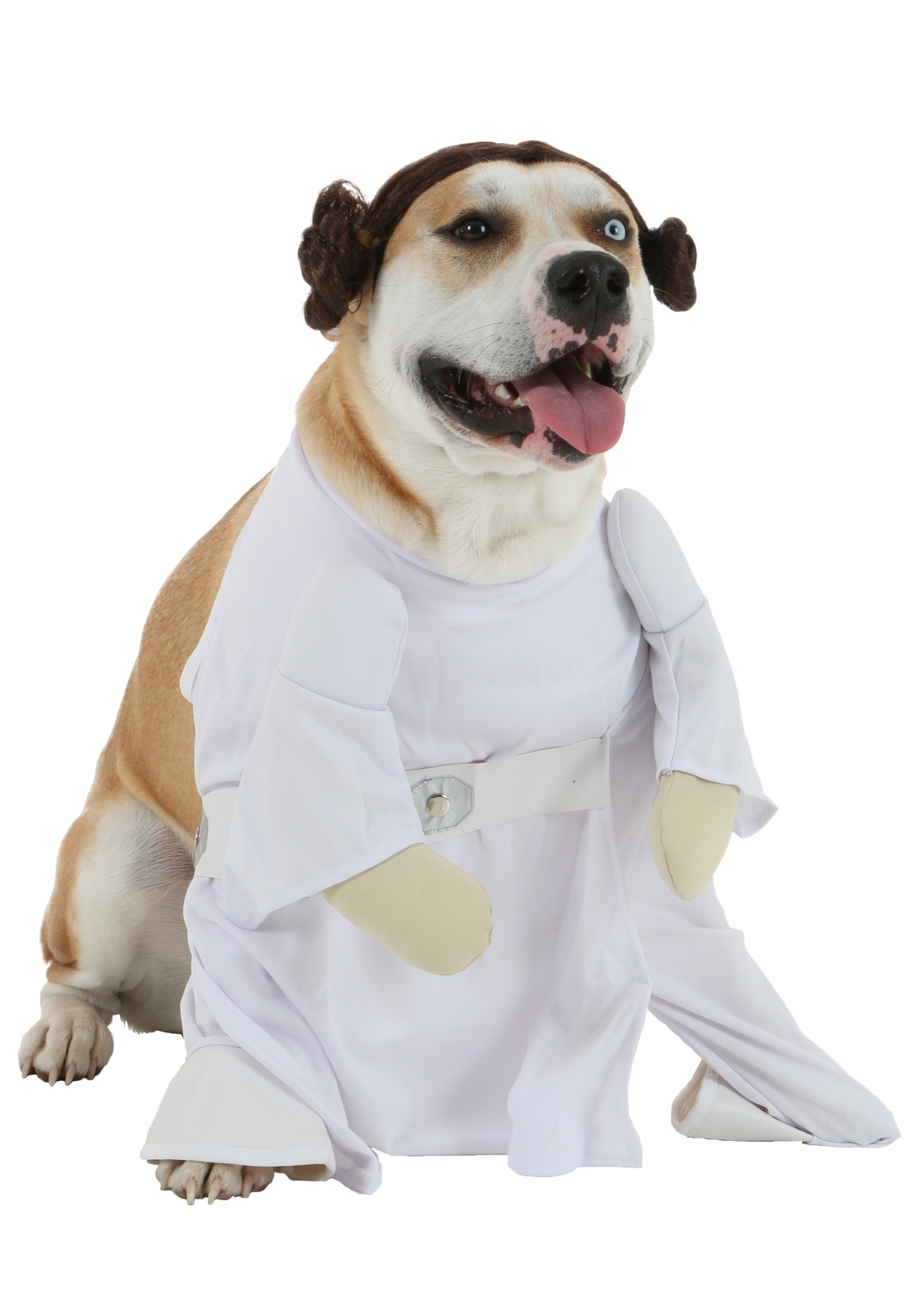 Princess Leia Dog Costume Jabba The Hutt Costume For Dogs