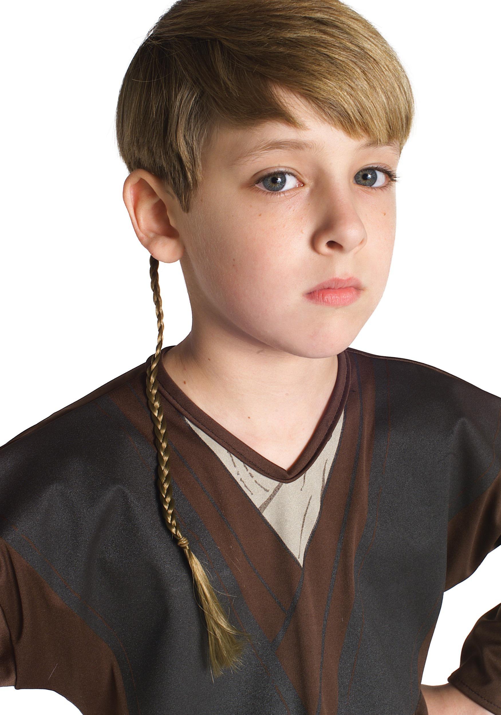 Star Wars Episode 2 Anakin Skywalker Jedi Braid RU5059