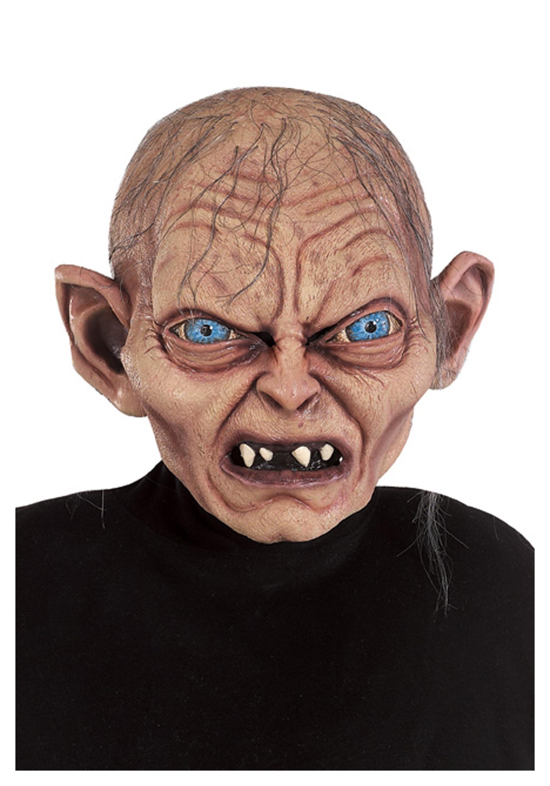 Latex full-head mask Gollum Hobbit Lord of the Rings