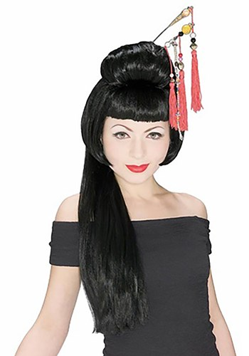 China Girl Wig By: Rubies Costume Co. Inc for the 2015 Costume season.