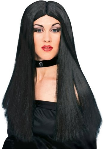 Black Witch Costume Wig