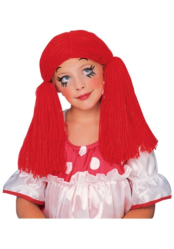 Rag Doll Girl Wig By: Rubies Costume Co. Inc for the 2015 Costume season.