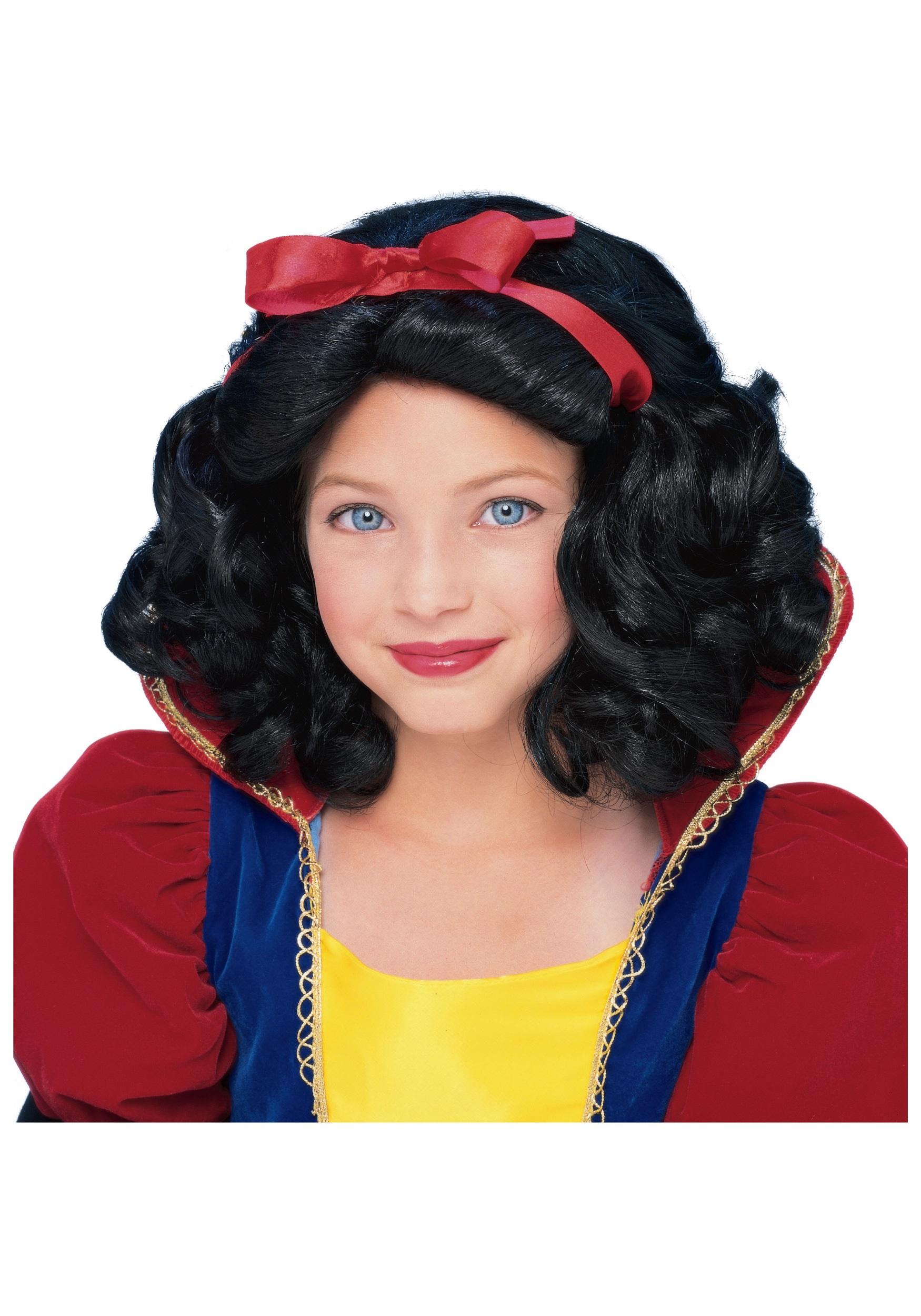 Kid Snow White Wig 52
