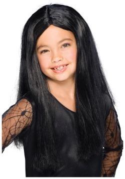 Kid's Black Witch Wig