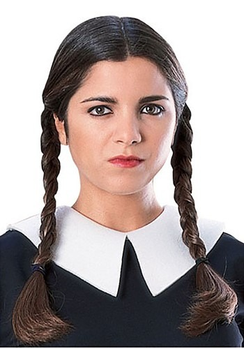 Wednesday Addams Wig By: Rubies Costume Co. Inc for the 2015 Costume season.