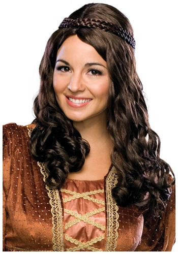 Katniss Everdeen's Brown Hair Wig