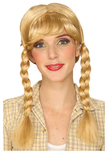 Blonde Braided Wig By: Rubies Costume Co. Inc for the 2015 Costume season.
