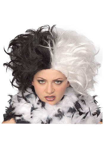 Click Here to buy Ms Spot Wig from HalloweenCostumes, USA Funds & Shipping