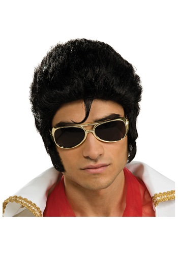 Deluxe Elvis Wig By: Rubies Costume Co. Inc for the 2015 Costume season.