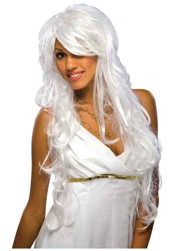 Game of Thrones Daenerys Targaryen Kaleesi-Chic White and Silver Wig