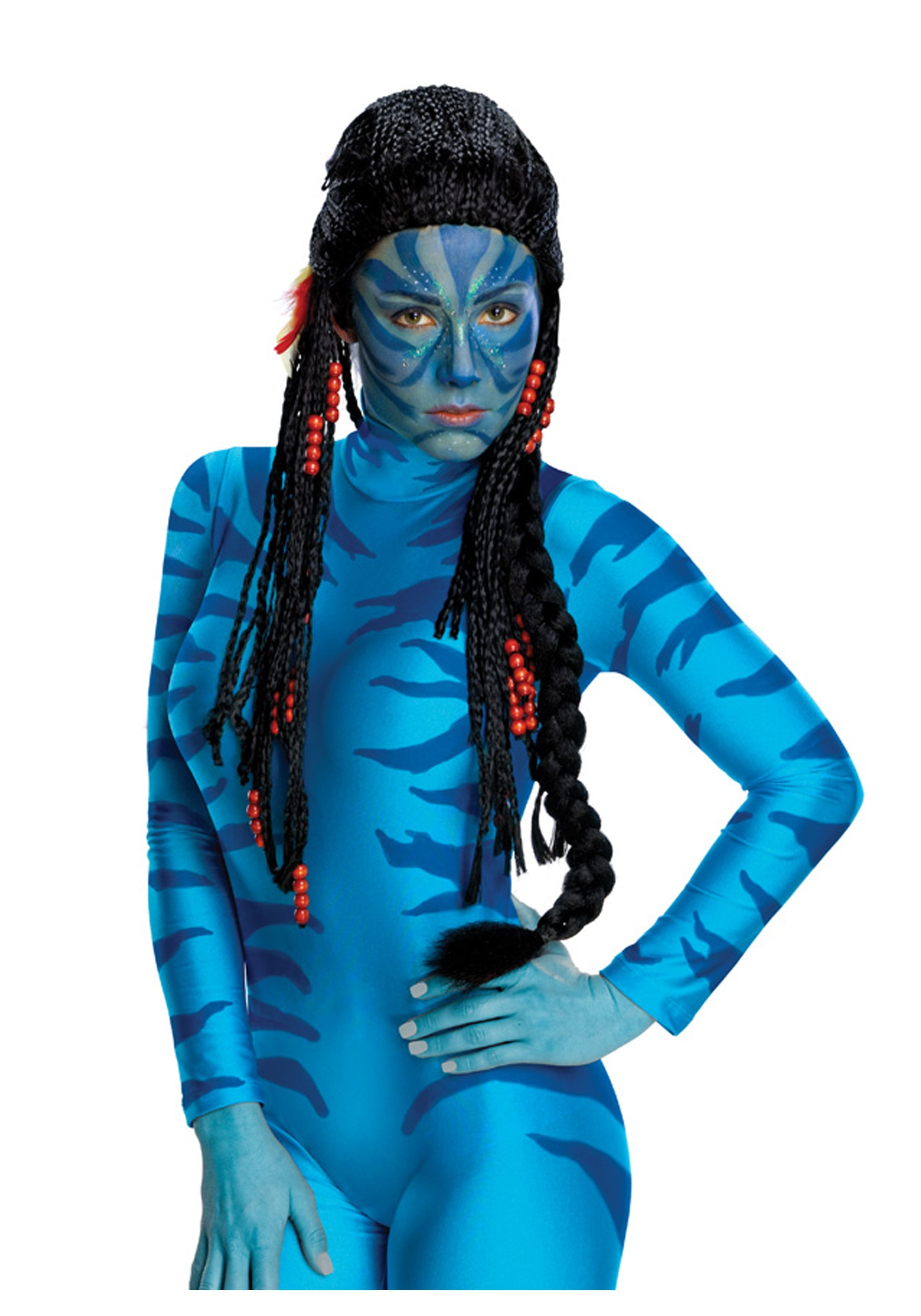 sc 1 st  Halloween Costumes & Avatar Neytiri Wig