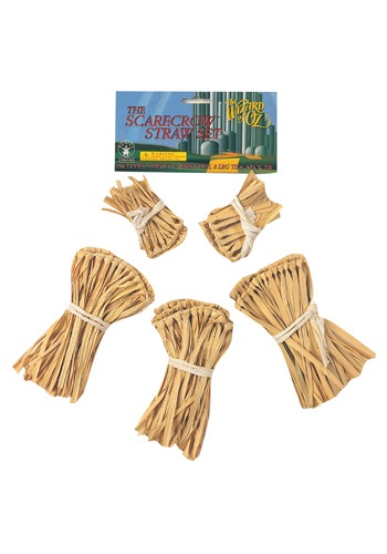 Five-Piece Scarecrow Straw Kit