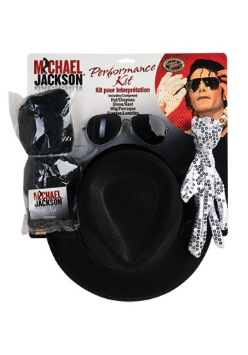 Click Here to buy Michael Jackson Performance Kit from HalloweenCostumes, USA Funds & Shipping