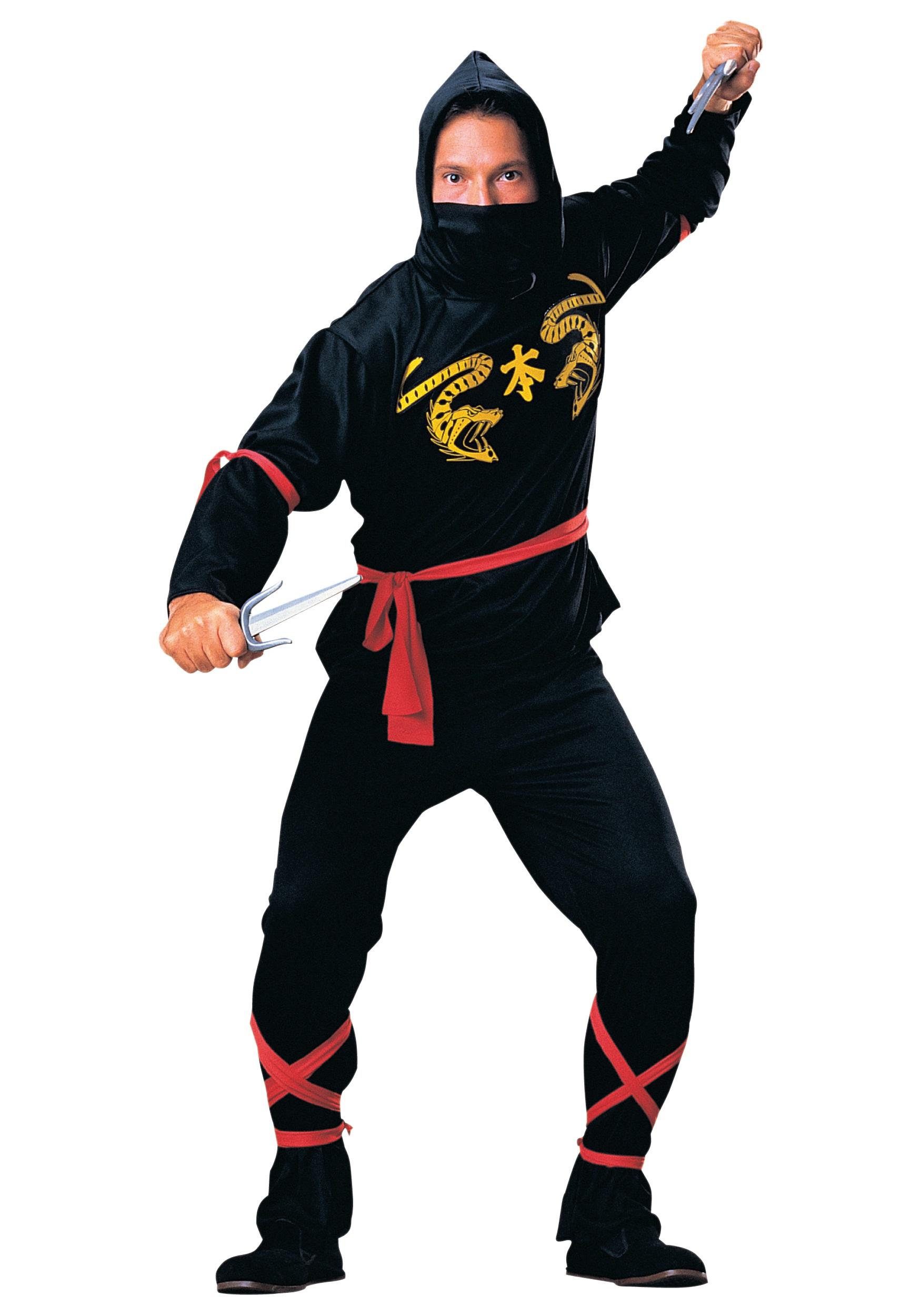 Mens Ninja Costume  sc 1 st  Halloween Costumes & Adult Mens Ninja Costume