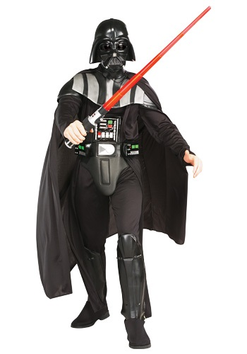 Click Here to buy Deluxe Adult Darth Vader Costume from HalloweenCostumes, USA Funds & Shipping