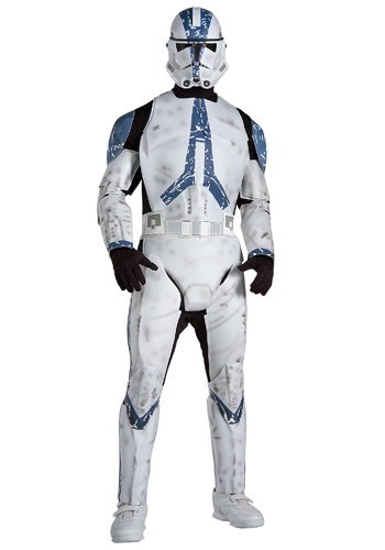 Clone Trooper Deluxe Costume By: Rubies Costume Co. Inc for the 2015 Costume season.