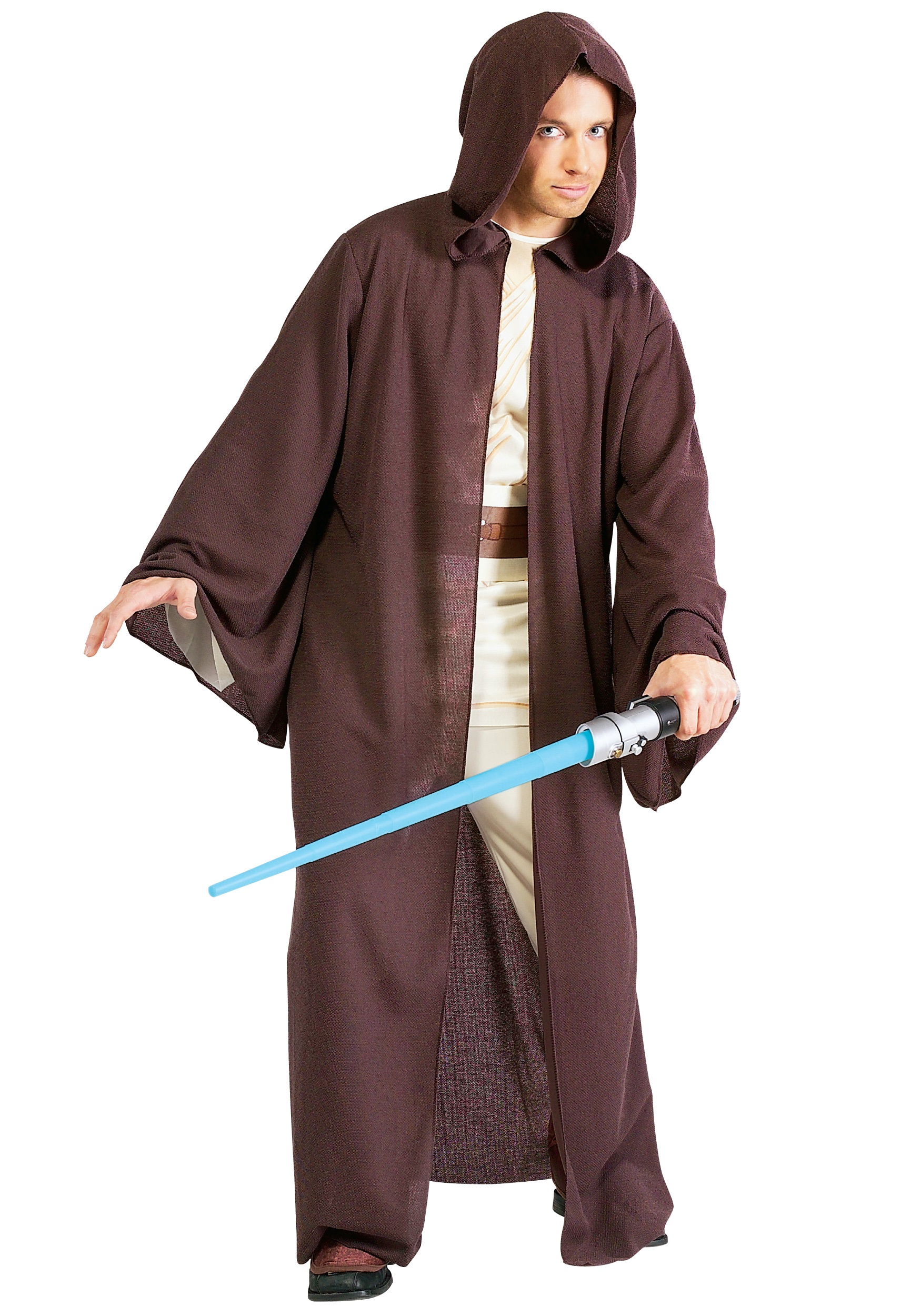 Deluxe Adult Jedi Robe  sc 1 st  Halloween Costumes & Deluxe Adult Jedi Robe - Star Wars Jedi Robes