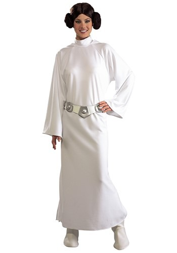 Adult Deluxe Princess Leia Costume By: Rubies Costume Co. Inc for the 2015 Costume season.