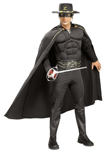 Adult Zorro Costume - Mask of Zorro Halloween Costumes By: Rubies Costume Co. Inc for the 2015 Costume season.