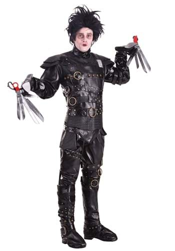 Click Here to buy Grand Heritage Edward Scissorhands Costume from HalloweenCostumes, CDN Funds