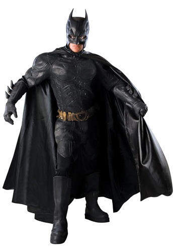 Click Here to buy Dark Knight Authentic Batman Costume from HalloweenCostumes, USA Funds & Shipping