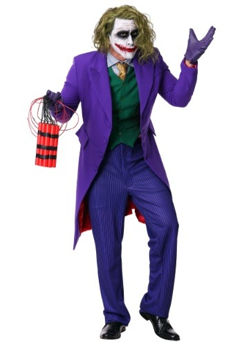Grand Heritage Joker Costume - Adult Dark Knight Joker Costumes By: Rubies Costume Co. Inc for the 2015 Costume season.